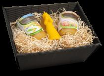 Honig-Karton mit 2 Sorten Honig